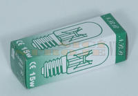 Žárovka 240V 15W E14 krátká, úzká