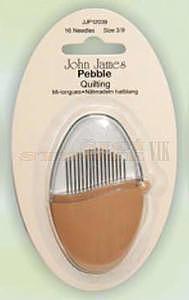 Jehly ruční Pebble 3/9 prošívací