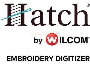 Vyšívací program HATCH DIGITIZER