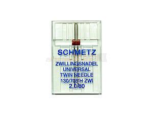 Jehly 130/705 H Nm 80/2 Dvojjehla Schmetz