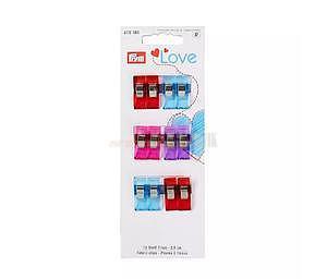 Svorky na textil 2,6 cm 12 ks PRYM LOVE - 1