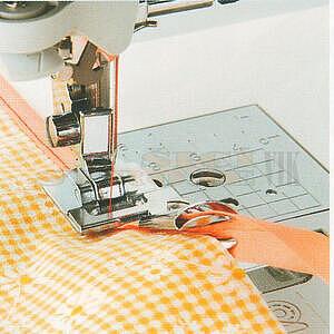 Patka lemovací textilní páskou F014 BROTHER