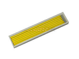 Tuková tuha 100x3mm žlutá
