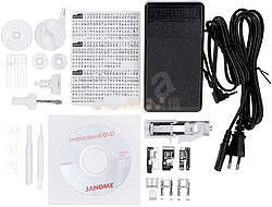 JANOME 607 TXL šicí stroj + přídavný stůl (40x28cm - 3