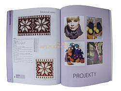 Praktická kniha-Pletení-Techniky,vzory,projekty - 3