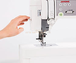 JANOME MEMORY CRAFT 6700 PROFESSIONAL  - 3