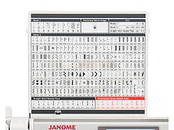 JANOME MEMORY CRAFT 6700 PROFESSIONAL  - 7